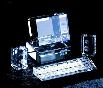 computer de cristal