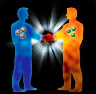 materie antimaterie