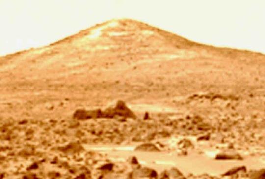 sfinxul pe Marte