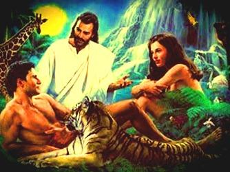 Adam si Eva paradis