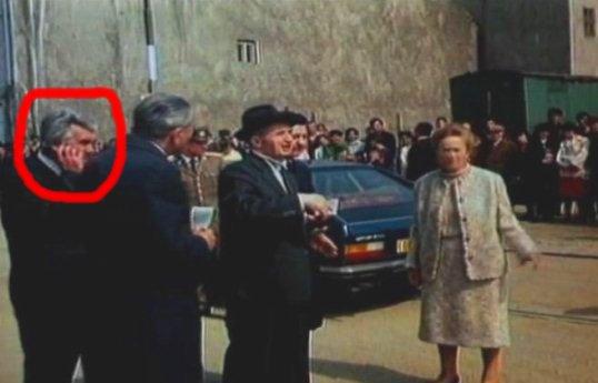 Ceausescu telefon mobil