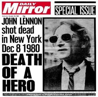 moartea lui John Lennon