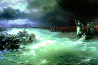 Moise si despartirea apelor