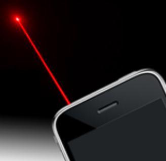 telefon raza laser