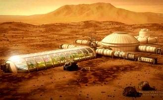 baze secrete pe Marte