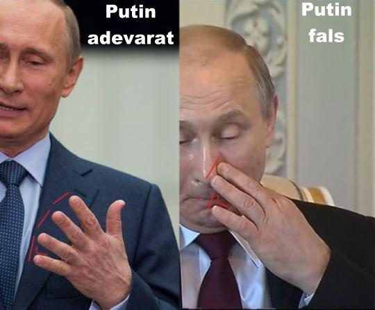 Putin fals adevarat