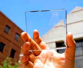 energie solara transparenta