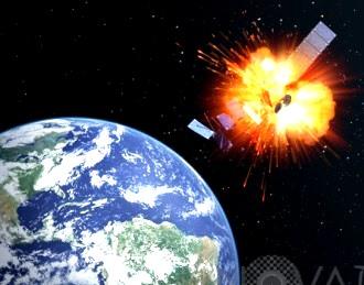 explozie satelit
