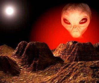 extraterestri planeta rosie
