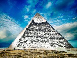 """""""Marea piramidă albă"""", cea mai misterioasă construcţie antică din China! Deşi a fost fotografiată, ea a dispărut de pe faţa pământului! Unde!??"""
