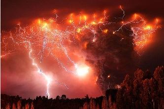 eruptie vulcanica cutremur
