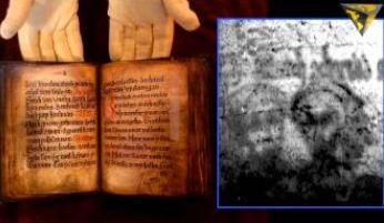 Într-un manuscris vechi de aprope 800 de ani, au fost găsite ascunse două chipuri de extratereştri gri! Ele au fost şterse, dar au fost regăsite de cercetători cu ajutorul razelor ultraviolete!