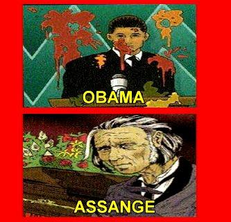 joc de carti Illuminati - Obama Assange