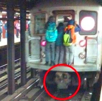 moartea sub metrou 1