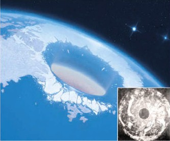 Antarctica misterioasa