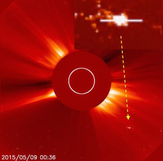OZN soare 1