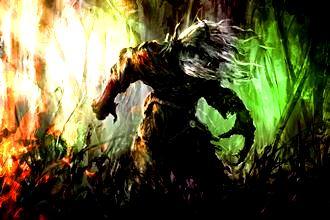"""""""Omul-frunză"""", o creatură înspăimântătoare din pădurile Angliei, pe care n-aţi vrea s-o întâlniţi!"""