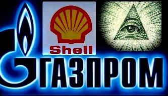 gazprom shell