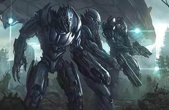 robot extraterestru