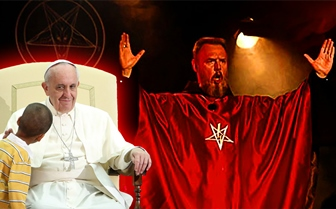 papa Francisc diavol