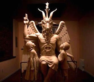 statuia lui Baphomet