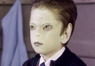 extraterestru copil UNICEF