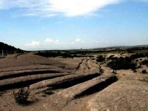 Acum 12 milioane de ani, extratereştrii sau o civilizaţie omenească necunoscută se plimbau cu vehicule de teren prin Turcia! Marcajele misterioase din Valea Frigiană!