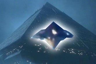 OZN piramida bronz