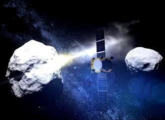 NASA efectuează teste cu nave spaţiale pentru a distruge asteroizii care s-ar putea îndrepta spre Pământ! În mod sigur, niciun corp ceresc nu ne va lovi înainte de anul 2022!