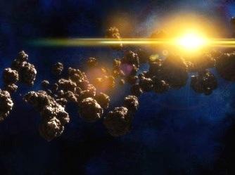 centura de asteroizi OZN
