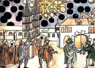 Sferele negre misterioase din Suedia şi Elveţia, care au întunecat cerul şi Soarele! Ce naiba erau ele?