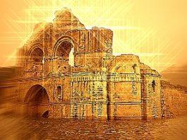 Un vechi templu din Mexic, din secolul al XVI-lea, a apărut din ape, asemenea unei ruine pierdute a Atlantidei!