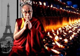 Dalai Lama Paris