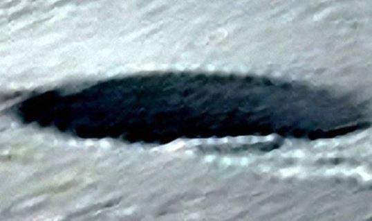 Obiect Pamantean Neidentificat in Antarctica