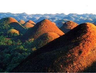 dealurile de ciocolata