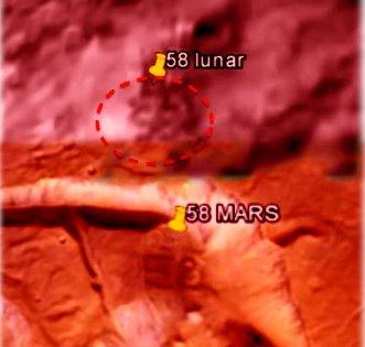 58 Luna Marte
