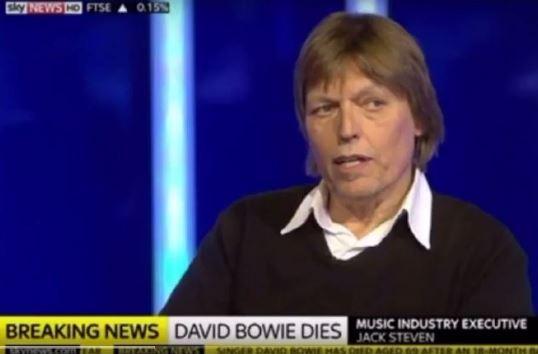 David Bowie mort 1