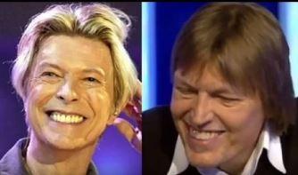 Asta-i prea de tot! Un conspiraţionist susţine că David Bowie n-a murit şi a apărut la televizor, deghizat, sub numele unui producător necunoscut de muzică!