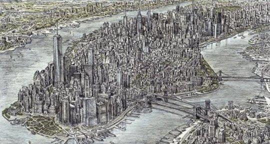 New York desen