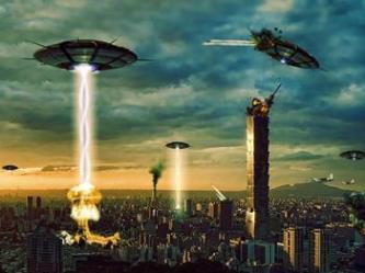 extraterestrii ataca