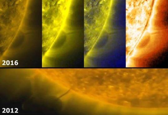 obiect misterios Soare 2012 2016 2