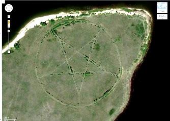 pentagrama din Kazahstan
