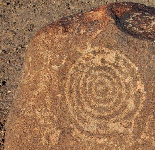 spirala petroglif