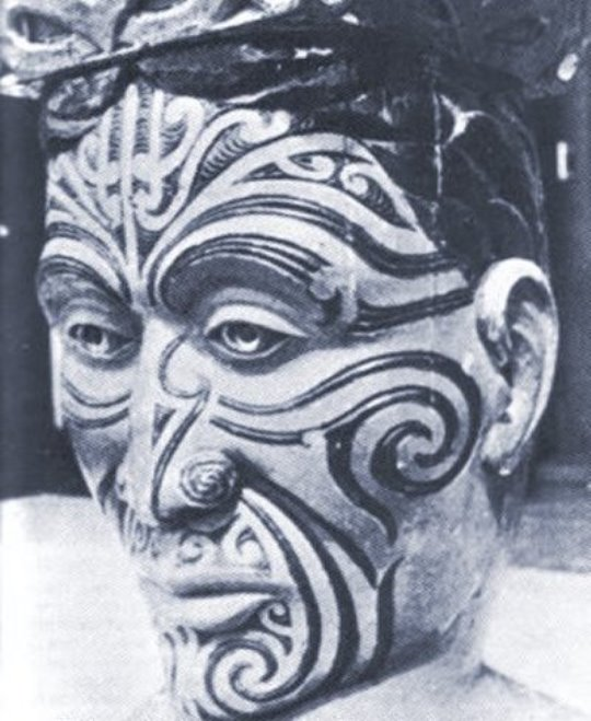 tatuaj spirala maori