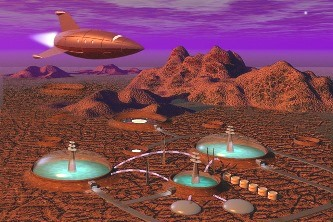 Marte baza extraterestra