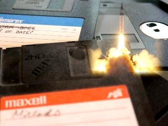 floppy-disk rachete nucleare