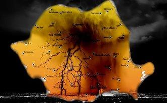 Romania nori negri