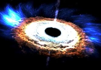 Un nou studiu şocant al fizicienilor arată că găurile negre, aşa cum noi ni le-am imaginat până acum, sunt doar o hologramă! Gaura neagră ar putea fi una bidimensională, şi nu tridimensională...