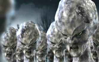 4 extraterestri gri
