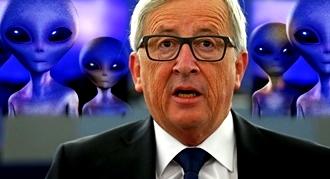 Juncker extraterestri